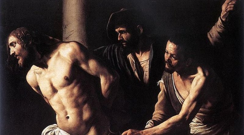 Christ at the Column by Caravaggio.