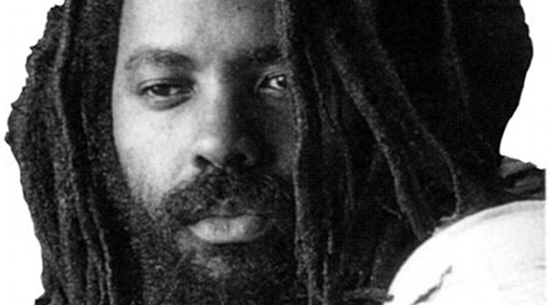 Mumia Abu-Jamal. Photo by dubdem sound system, Wikimedia Commons.