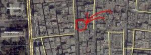 Map 1. Drones' training center (latitude, longitude): 35.9514406, 39.0125906