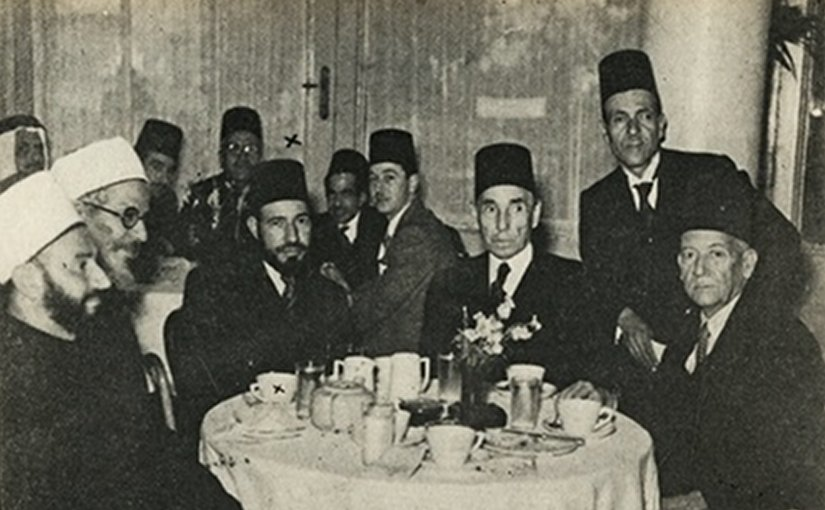 The Muslim Brotherhood was founded in 1928 by Hassan al-Banna (third from left). Photo: Wikipedia Commons
