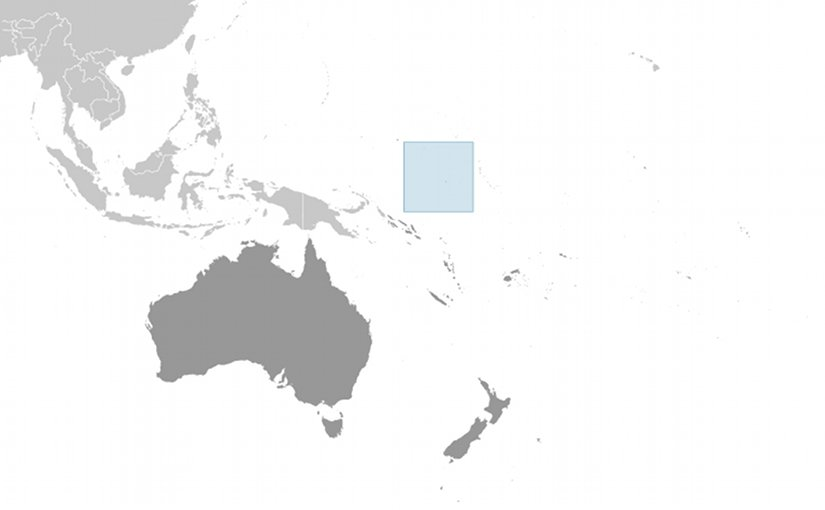 Location of Nauru. Source: CIA World Factbook.