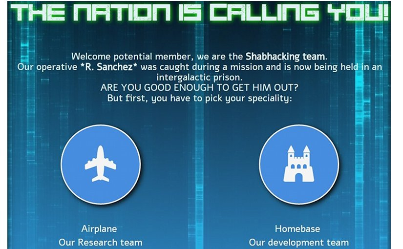 Shabak cyber-hacking recruitment site via Tikun Olam
