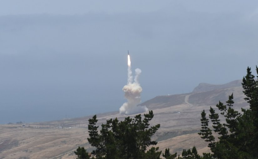 The U.S. Missile Defense Agency, in cooperation with the U.S. Air Force 30th Space Wing, the Joint Functional Component Command for Integrated Missile Defense and U.S. Northern Command, successfully intercepted an intercontinental ballistic missile target during a test of the Ground-based Midcourse Defense (GMD) element of the nation's ballistic missile defense system. A ground-based interceptor was launched from Vandenberg Air Force Base, California, and its exo-atmospheric kill vehicle intercepted and destroyed the target in a direct collision. Source: Missile Defense Agency.