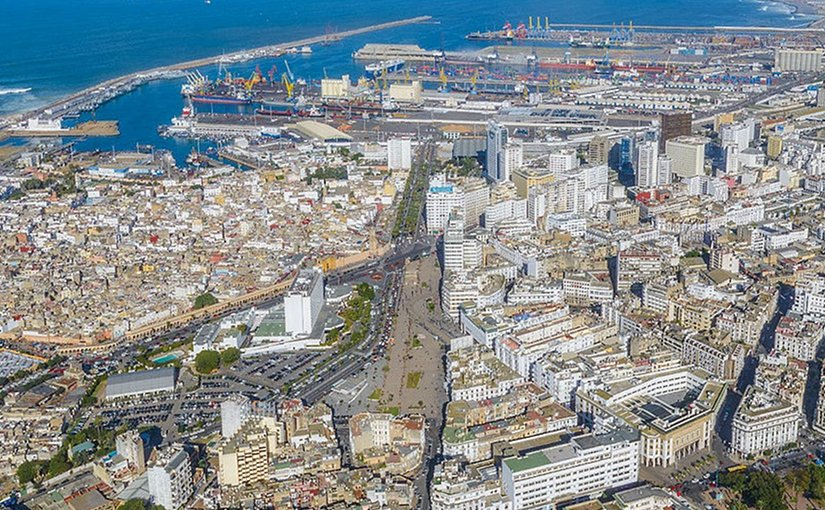 Port of Casablanca, Morocco. Photo by Brio-En, Wikipedia Commons.