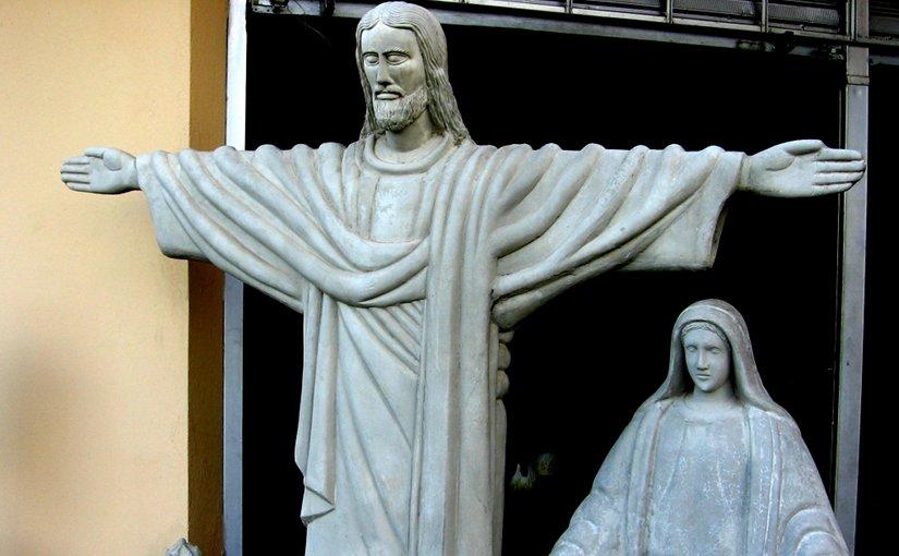 christianity jesus virgin mary