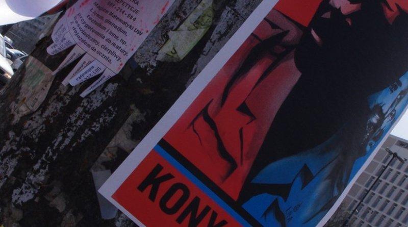 Joseph Kony poster. Photo by Mateusz Opasiński, Wikipedia Commons.