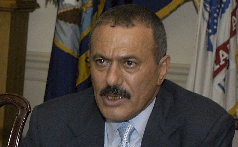 Yemen's Ali Abdullah Saleh. DoD photo by Helene C. Stikkel.