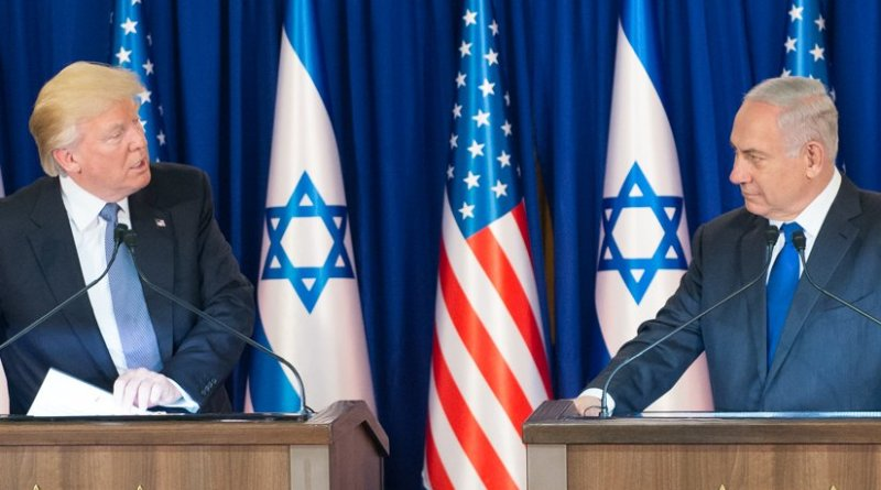 US President Donald Trump and Israel's Prime Minister Netanyahu.(Official White House Photo by Andrea Hanks)