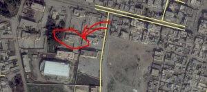Map 3. IEDs and Drones' Weaponization Base (latitude, longitude: 35.9427865, 39.0200579)