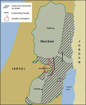 The Allon Plan recommended partitioning the West Bank between Israel and Jordan as well as giving the Jewish state control of the strategically important Jordan Valley. Jordan's King Hussein rejected the plan.