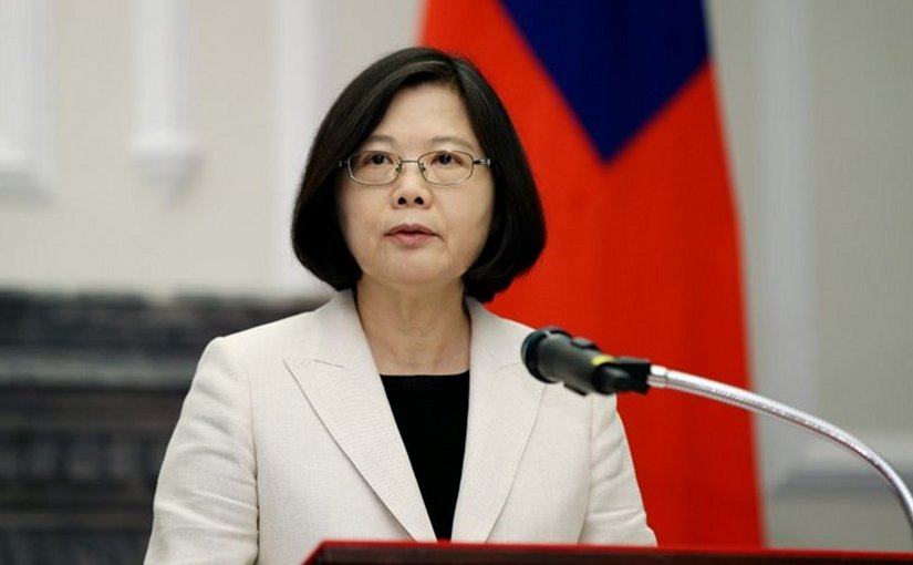 Taiwan's President Tsai Ing-wen. Photo Credit: Taiwan Presidential Office.