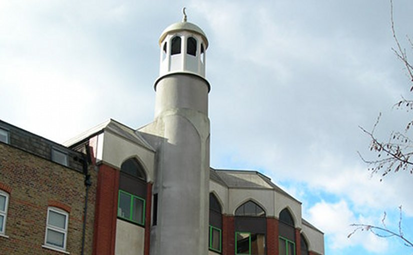 The Finsbury Park mosque in London, United Kingdom. Photo by Danny Robinson, Wikipedia Commons.