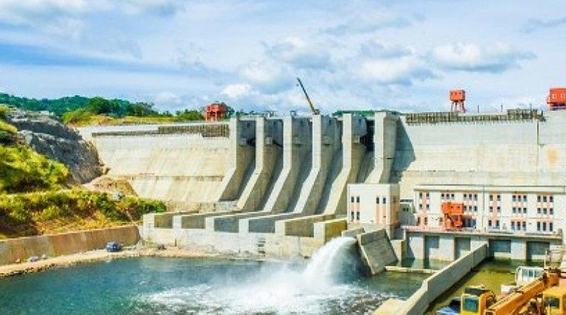 Artist's rendition of Sri Lanka's Moragahakanda hydro-electricity plant. Credit: Sri Lanka government.