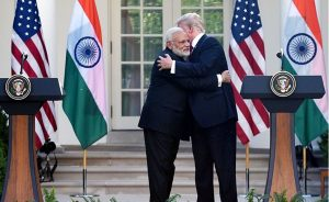 India's PM Narendra Modi and US President Donald Trump at White House. Photo Credit: India PM Office.