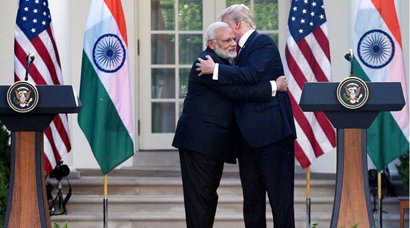 India's PM Narendra Modi and US President Donald Trump at White House. Photo Credit: India PM Office.