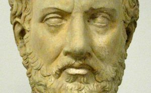 Bust of Thucydides. Source: Wikipedia Commons.