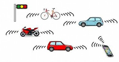 Millimeter-wave radars covering several tens of meters could be on cars, bikes, and smartphones. This might create a lot of new applications including games. Credit Hiroshima University