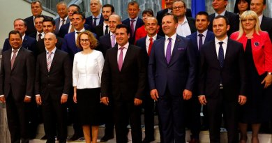 Macedonia's new government. Photo: MIA