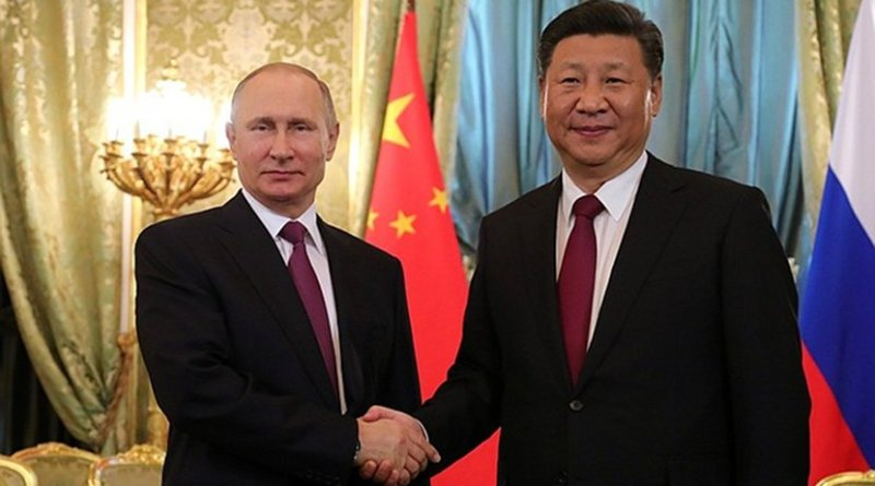 Russia's President Vladimir Putin and President of China Xi Jinping. Photo Credit: Kremlin.ru