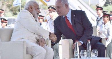 India's Prime Minister Narendra Modi and Israel's Prime Minister Benjamin Netanyaho. Photo Credit: India PM Office.