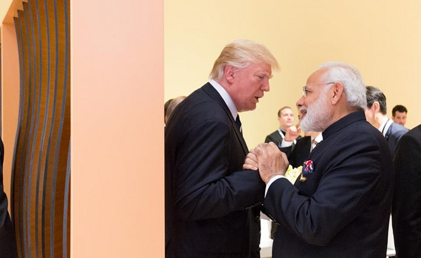 President Donald J. Trump and Prime Minister Narendra Modi | July 7, 2017 (Official White House Photo by Shealah Craighead)
