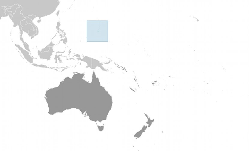 Location of Guam. Credit: CIA World Factbook.