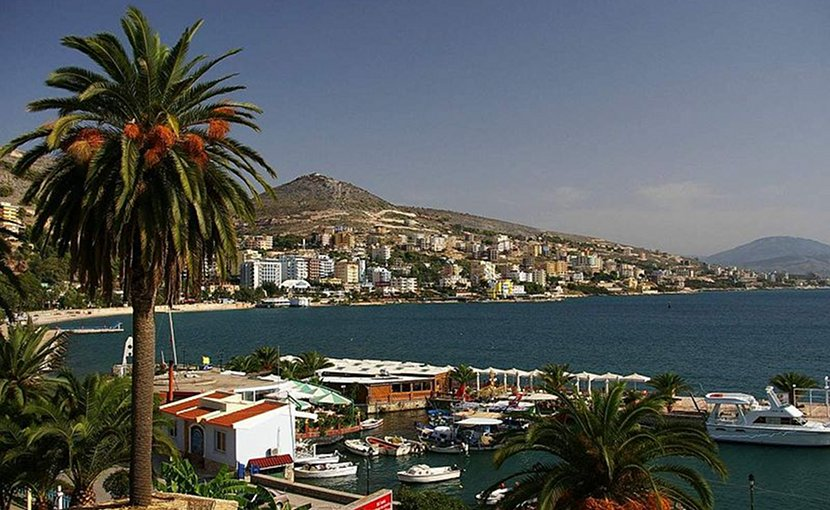 Saranda, Albania. Photo by inoue-hiro, Wikipedia Commons.