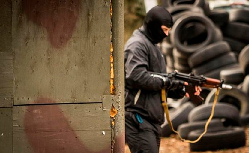 A member of Interpol. Photo Credit: Interpol.