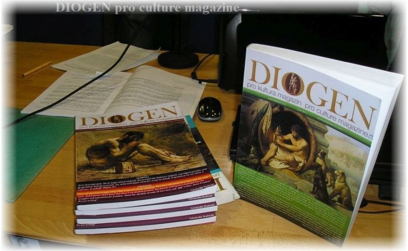 DIOGEN pro-culture, magazine for art, culture, education and science.