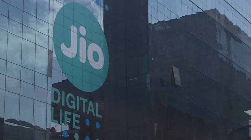Jio's headquarters in RCP, Navi Mumbai. Photo by Nairspecht, Wikipedia Commons.