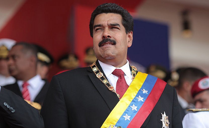 Venezuela's Nicolas Maduro. Photo by Hugoshi, Wikimedia Commons.