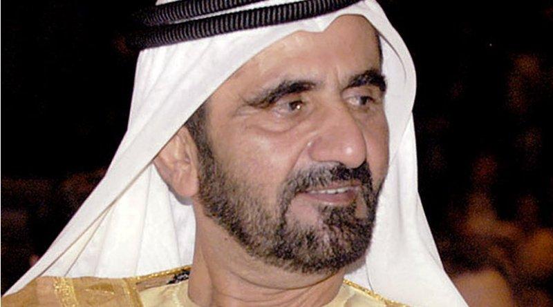 Dubai's Sheikh Mohammed bin Rashid Al Maktoum. Photo Credit: IMF, Wikipedia Commons.