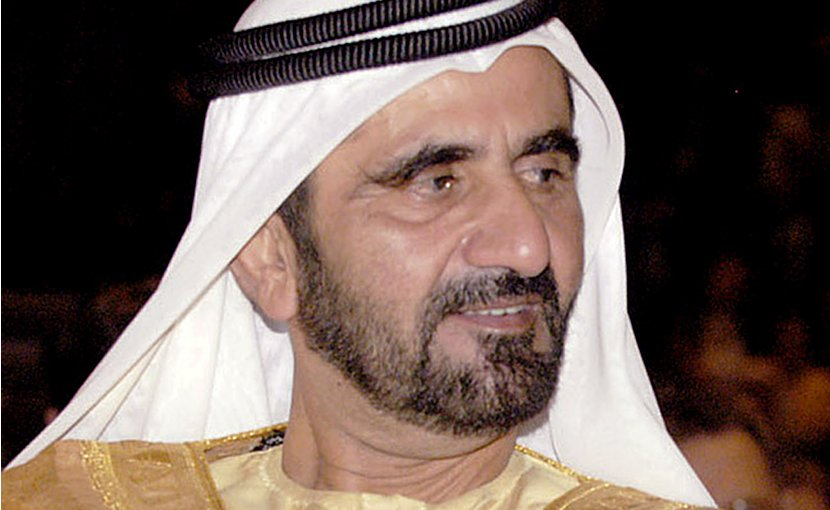 Dubai's Sheikh Mohammed bin Rashid Al Maktoum. Photo Credit: IMF, Wikipedia Commons.