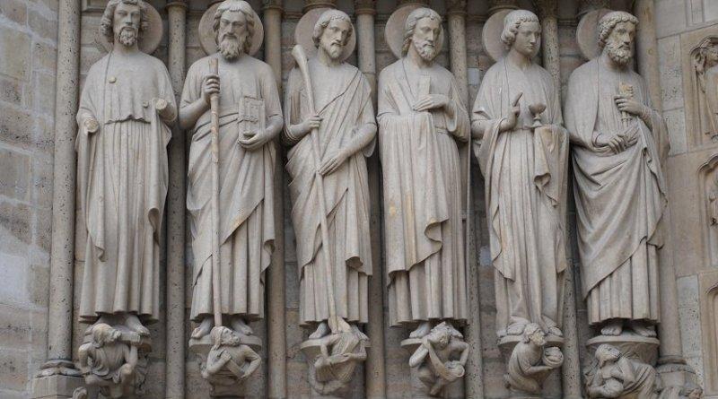 catholic church statue saints