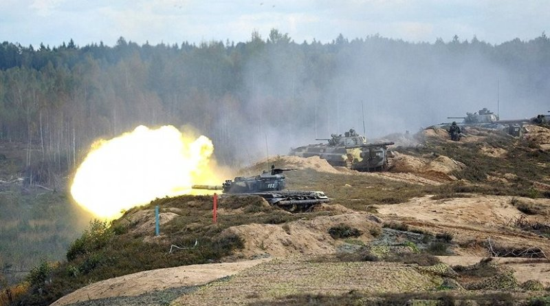 The final stage of the Zapad-2013 Russian-Belarusian strategic military exercises. Source: Kremlin.ru