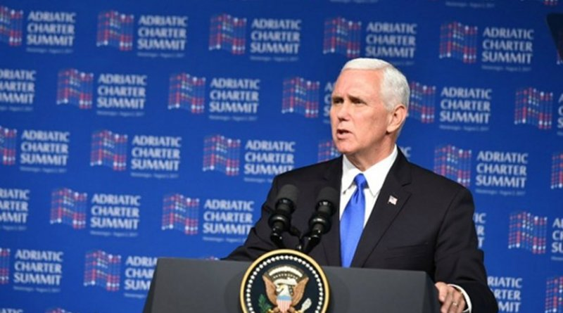 US Vice President Mike Pence in Podgorica, Montenegro. Photo: Montenegro Government.