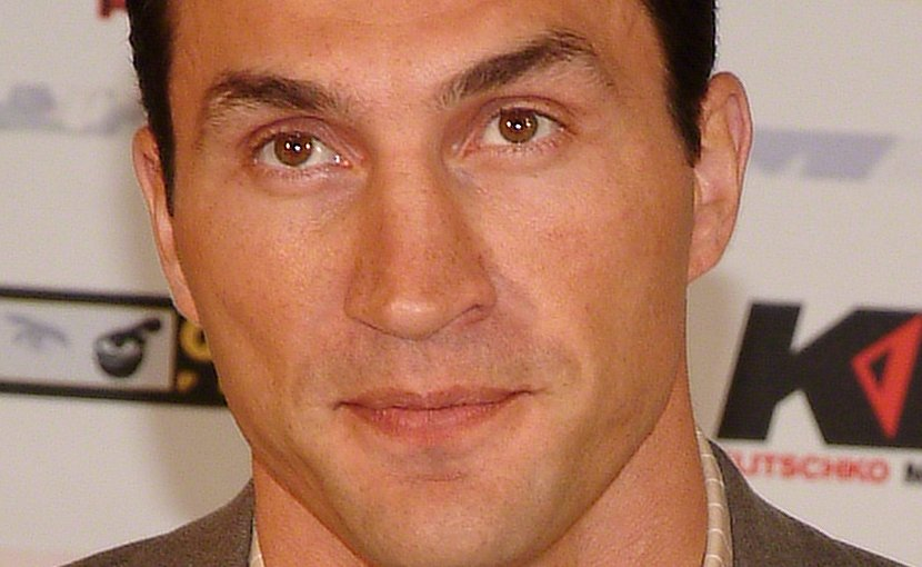 Wladimir Klitschko. Photo by Michael Schilling, Wikipedia Commons.