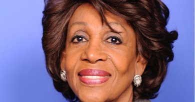 """Maxine Waters. Source:"""" House of Representatives photographic studio, Wikipedia Commons."""