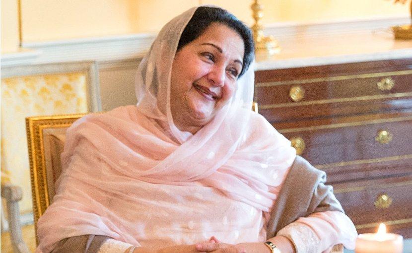 Pakistan's Begum Kulsoom Nawaz. Official White House Photo by Amanda Lucidon, Wikipedia Commons.