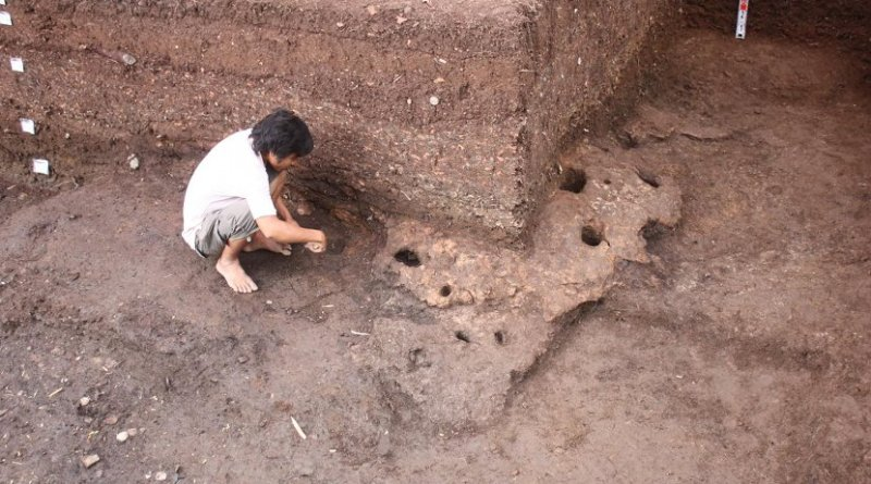 This is the Rach Nui site in Southern Vietnam under excavation. Credit ANU