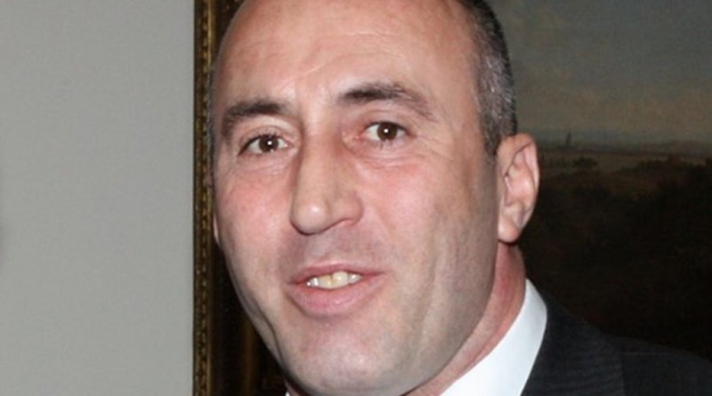 Kosovo's Ramush Haradinaj. Photo Foreign and Commonwealth Office, Wikipedia Commons.