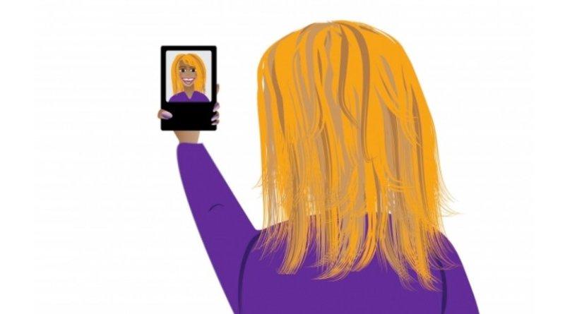 selfie smartphone