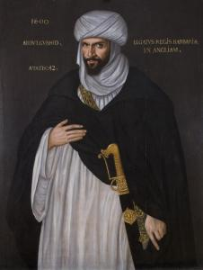 Portrait of Abd el-Ouahed ben Messaoud, ambassador of Ahmad al-Mansur to Queen Elizabeth I in 1600, sometimes claimed as an inspiration for Othello