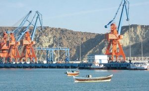 Gwadar port of Pakistan. Photo by Umargondal, Wikimedia Commons.