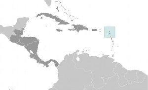 Location of Antigua and Barbuda. Source: CIA World Factbook.