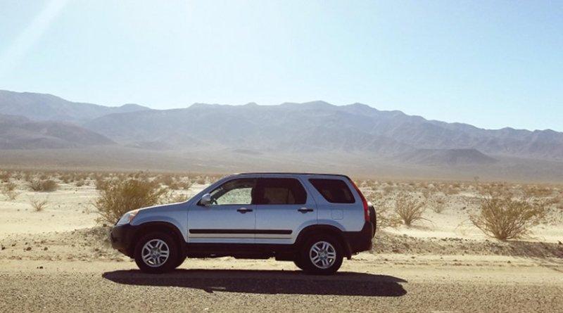 car desert automotive