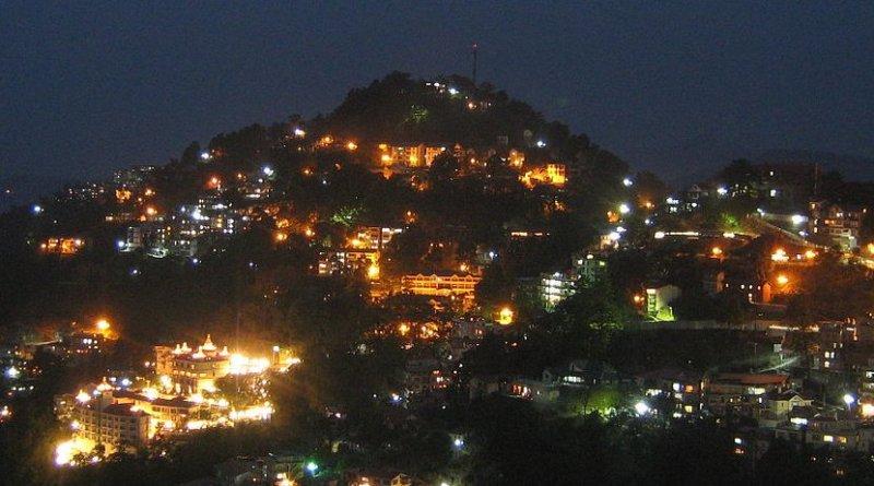 Shimla, Himachal Pradesh, India. Photo by Naveen Kumar G, Wikipedia Commons.