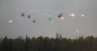 Zapad-2017 joint Russian-Belarusian strategic military exercises. Photo Credit: Kremlin.ru