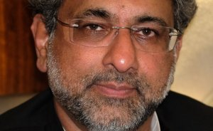 Shahid Khaqan Abbasi, Prime Minister of Pakistan. Photo by Drazen Jorgic, Wikipedia Commons.