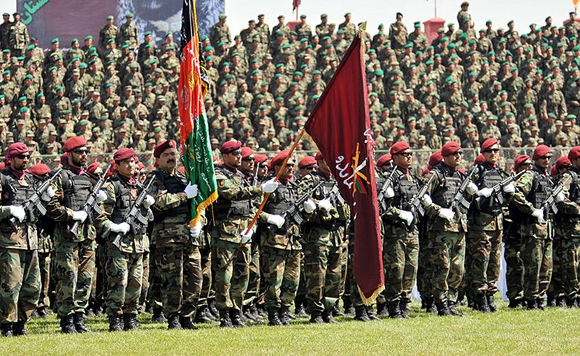 Afghanistan National Army. Photo by Staff Sgt. Markus Maier (U.S. armed forces), Wikipedia Commons.